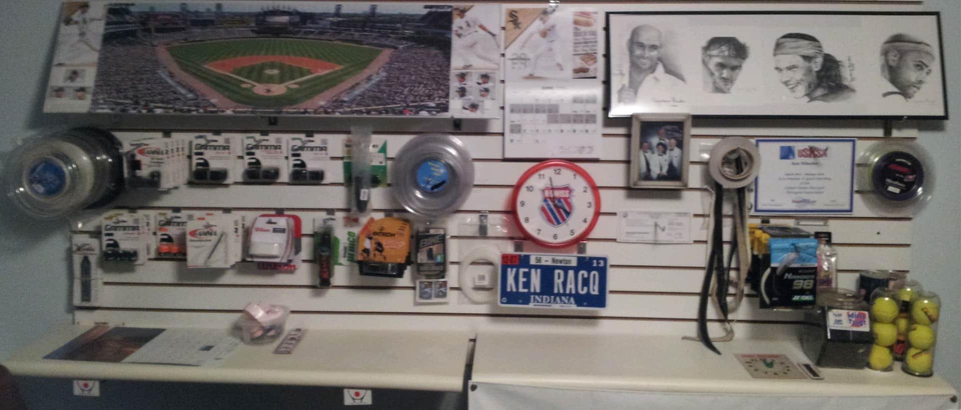 Ken's Office Wall